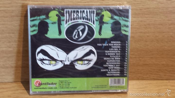 CDs de Música: IMERICANI - NIGHTMARE. CD / VENTILADOR - 15 TEMAS / PRECINTADO. - Foto 2 - 55356055