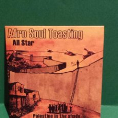 CDs de Música: AFRO SOUL TOASTING. ALL STAR. PALESTINE IN THE SHADE. CD-SINGLE / LUJO / ENVÍO INCLUIDO.. Lote 55360579