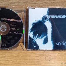 CDs de Música: REVOLVER. VENICE. CD-EP / HUT RECORDINGS - 1992 / CALIAD LUJO. Lote 55369592