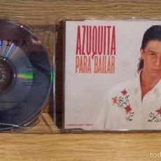 CDs de Música: AZUQUITA. PARA BAILAR. CD SINGLE - PROMO / POLYDOR - 1993 / CALIDAD LUJO.. Lote 55371192