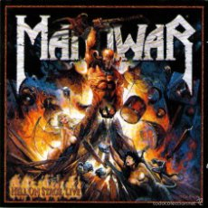 CDs de Música: DOBLE CD ALBUM: MANOWAR - HELL ON STAGE LIVE - 16 TRACKS - NUCLEAR BLAST 1999. Lote 55371744