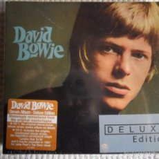 CDs de Música: DAVID BOWIE - '' DAVID BOWIE - DERAM ALBUM '' 2 CD DELUXE EDITION EU SEALED. Lote 55376845