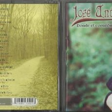 CDs de Música: JOSE ANDREA CD DONDE EL CORAZON TE LLEVE .2004. Lote 55382709