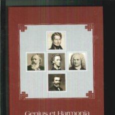 CDs de Música: GENIUS ET HARMONIA. DMR CONSULTING. Lote 55564663