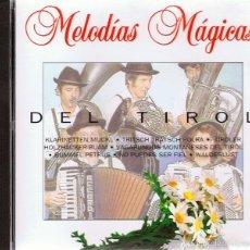 CDs de Música: CD MELODÍAS MÁGICAS DEL TIROL . Lote 55702902