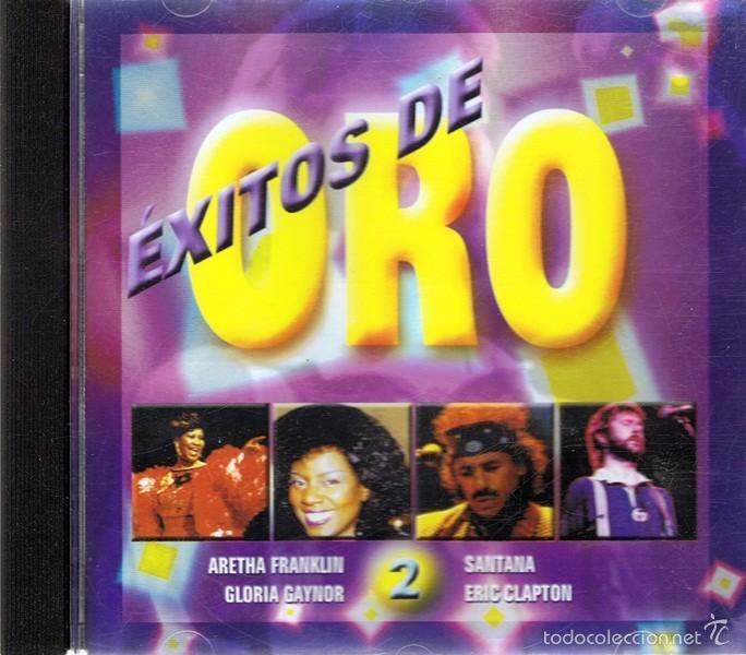 CD ÉXITOS DE ORO 2 SANTANA - ERIC CLAPTON - GLORIA GAYNOR (Música - CD's World Music)