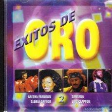 CDs de Música: CD ÉXITOS DE ORO 2 SANTANA - ERIC CLAPTON - GLORIA GAYNOR. Lote 55703922