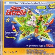 CDs de Música: CD DISCO ESTRELLA VOL. 5 CD 1 Y CD 2. Lote 94856592