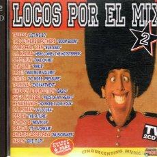 CDs de Música: CD LOCOS POR EL MIX ( 2CDS). Lote 55705303