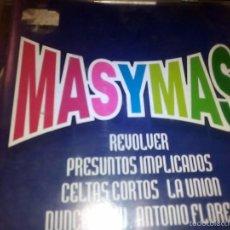 CDs de Música: MAS Y MAS-2 CDS-36 TEMAS ,POP,ROCK,ESPAÑOL DESDE ROSENDO, EXTREMODURO HASTA NACHA POP,SECRETOS,ETC. Lote 55715561