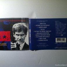 CDs de Música: JUEGO DE PATRIOTAS CD BANDA SONORA ORIGINAL-PATRIOT GAMES SOUNDTRACK CD SIN CAJA JAMES HORNER. Lote 55718148