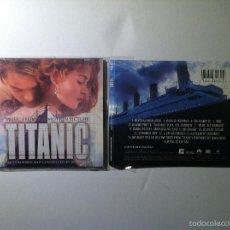 CDs de Música: TITANIC CD BANDA SONORA ORIGINAL SOUNDTRACK - SIN CAJA DE PLASTICO - JAMES HORNER. Lote 55718233