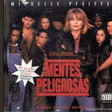 CDs de Música: CD MENTES PELIGROSAS MICHELLE PFEIFFER . Lote 55752671