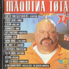 CDs de Música: CD MÁQUINA TOTAL 8 ( 2 CD). Lote 221073721