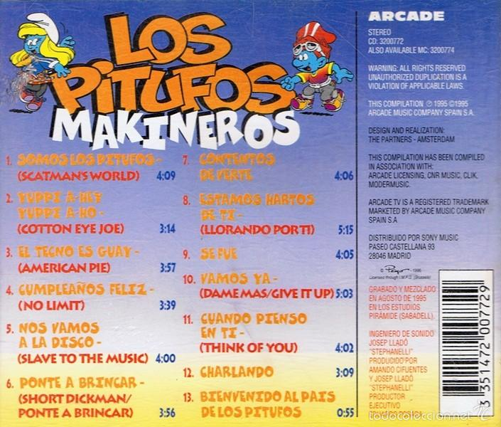 cd pitufos makineros