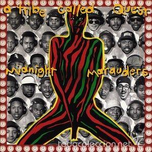 A TRIBE CALLED QUEST-MIDNIGHT MARAUDERS-HIP HOP 90-RARO! (Música - CD's Hip hop)