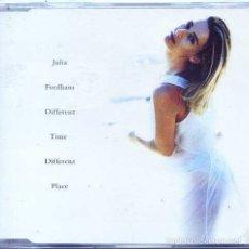 CDs de Música: JULIA FORDHAM / DIFFERENT TIME, DIFFERENT PLACE / SAFE + 2 (CD SINGLE CAJA 1994). Lote 55783647
