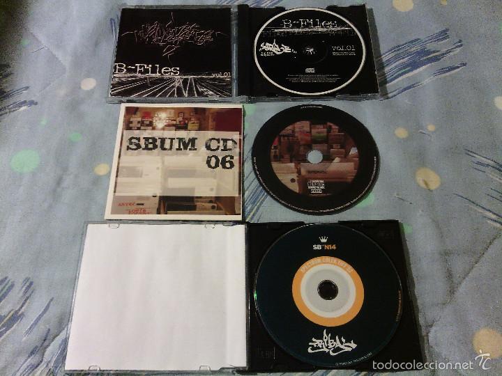 LOTE PACK 3 CDS RAP HIP HOP ESPAÑOL / SERIE B PROMOCIONALES / RAROS!!!!!!!!! (Música - CD's Hip hop)