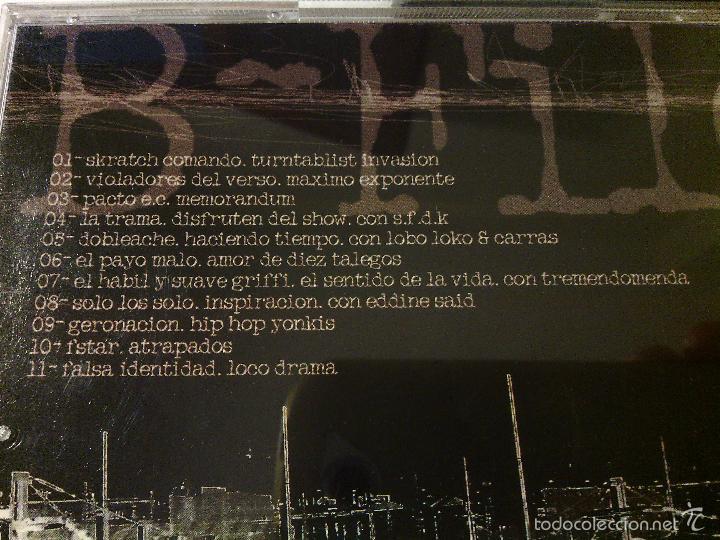 CDs de Música: LOTE PACK 3 CDS RAP HIP HOP ESPAÑOL / SERIE B PROMOCIONALES / RAROS!!!!!!!!! - Foto 5 - 55787936