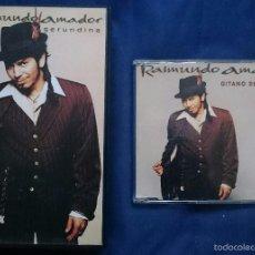 CDs de Música: RAIMUNDO AMADOR: CDSG GITANO DE TEMPORÁ + VHS PROMO GERUNDINA. Lote 55789539