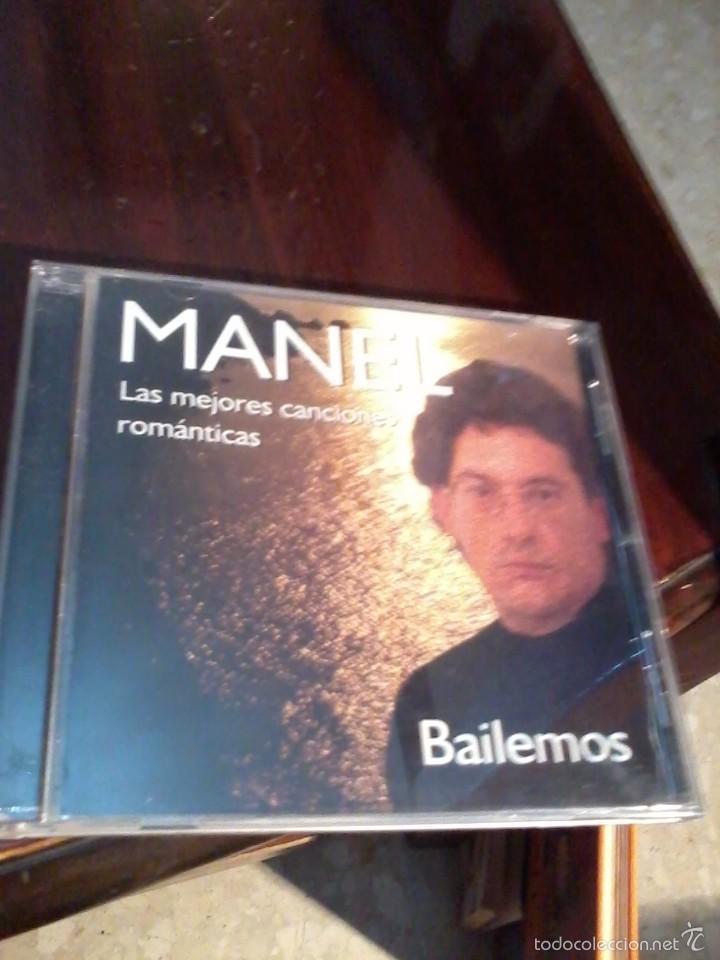 MANEL BAILEMOS. ( LAS MEJORES CANCIONES ROMÁNTICAS) (Música - CD's Melódica )