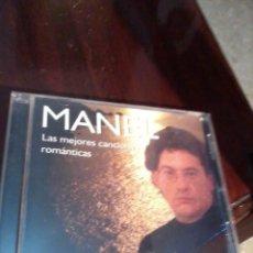 CDs de Música: MANEL BAILEMOS. ( LAS MEJORES CANCIONES ROMÁNTICAS) MB1CD. Lote 55798458
