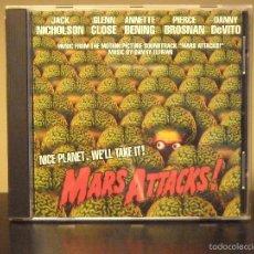 CDs de Música: CD - MARS ATTACKS ! (DANNY ELFMAN) (NM / NM). Lote 47333072