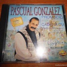 CDs de Música: PASCUAL GONZALEZ EL CANTOR DE HISPALIS CD ALBUM AÑO 1994 CANTORES DE HISPALIS 12 TEMAS. Lote 55809114