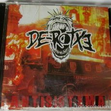 CDs de Música: DE-ROTXE - ANTISISTEMA - CD 11 TEMAS - WORKING CLASS RECORDS 2004 - NUEVO PRECINTADO. Lote 55823825