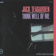 CDs de Música: JACK TEAGARDEN - THINK WELL OF ME (JAZZ CD). Lote 55862976
