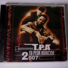 CDs de Música: TPA CREW T.P.A. - TU PEOR ADIKCION - CD 13 TEMAS - BULLDOG 2007 - NUEVO PRECINTADO. Lote 55880102