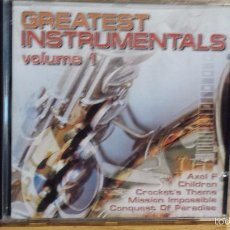 CDs de Música: GREATEST INSTRUMENTALS. VOLUME 1. CD / MILLENIUM - 12 TEMAS / CALIDAD LUJO.. Lote 55884730