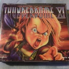 CDs de Música: 2CD THUNDERDOME XI - THE KILLING PLAYGROUND + LIBRETO INTERIOR / RAVE NOISE MUY RARO DIFÍCIL!!!!!!!. Lote 55904090
