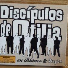 CDs de Música: DISCÍPULOS DE OTILIA. EN BLANCO & NEGRO. DIGIPACK/CD+DVD / SIN LIBRETO / CALIDAD LUJO.. Lote 55907421