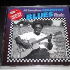 CDs de Música: DOWNHOME COUNTRY BLUES CLASSICS.. Lote 55908931
