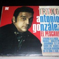 CDs de Música: ANTONIO GONZÁLEZ 'EL PESCAÍLLA'-TIRITANDO. CD. Lote 55909255
