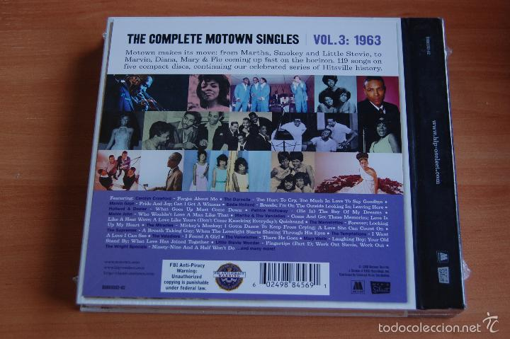 CDs de Música: BOX SET 5CD + 1SINGLE THE COMPLETE MOTOWN SINGLES VOLUMEN 3: 1963. NUEVO SIN DESPRECINTAR - Foto 2 - 55910735