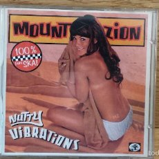 CDs de Música: MOUNT ZION. NUTTY VIBRATIONS (SKA) CD / BAOBAB MUSIC. 12 TEMAS / CALIDAD LUJO.. Lote 117051382
