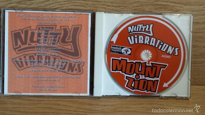 CDs de Música: MOUNT ZION. NUTTY VIBRATIONS (SKA) CD / BAOBAB MUSIC. 12 TEMAS / CALIDAD LUJO. - Foto 2 - 117051382