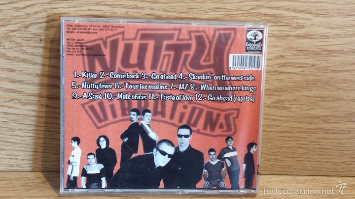 CDs de Música: MOUNT ZION. NUTTY VIBRATIONS (SKA) CD / BAOBAB MUSIC. 12 TEMAS / CALIDAD LUJO. - Foto 3 - 117051382