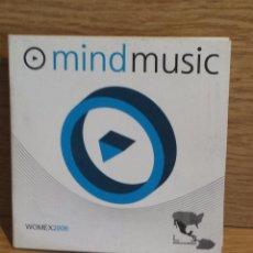 CDs de Música: MIND MUSIC. WOMEX 2006. CD-PROMO / VIVA MUSIC. 10 TEMAS / CALIDAD LUJO.. Lote 55926868