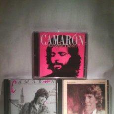 CDs de Música: LOTE 3 CDS CAMARÓN DE LA ISLA. Lote 55927523