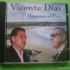 CDs de Música: VICENTE DIAZ - HOMENAJE AL PRESI - CD ALBUM- FOLK ASTURIANO. Lote 55938897