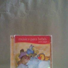 CDs de Música: CD MÜSICA PARA BEBÉS PARA JUGAR. Lote 55939381