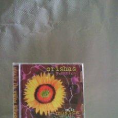 CDs de Música: CD FLORES PARA TU ALTAR - ORISHAS Y SANTOS EN LA MÚSICA POPULAR CUBANA. Lote 55939391