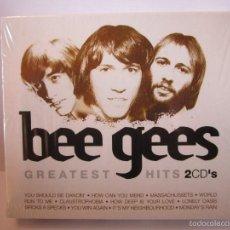 CDs de Música: DOBLE CD BEE GEES GREATEST HITS NUEVO PRECINTADO. Lote 55950309