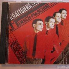 CDs de Música: CD KRAFTWERK DIE MENSCH MASCHINE. Lote 55952038