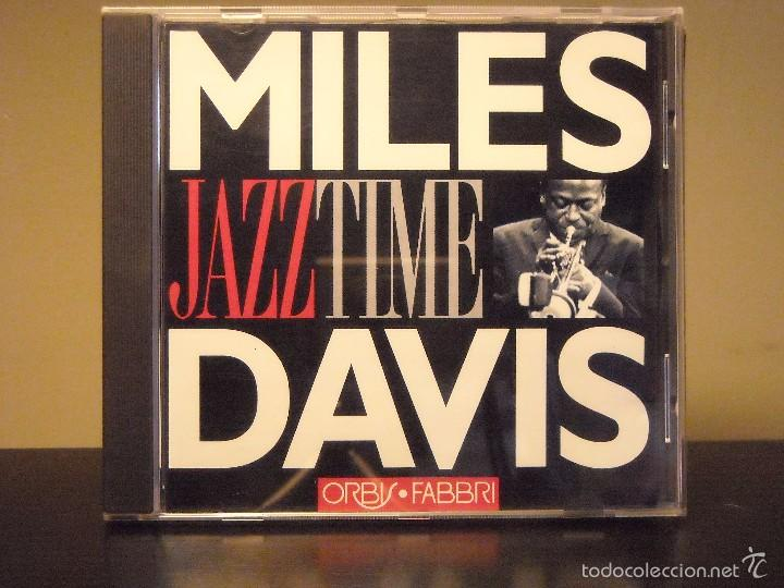 CD - JAZZ TIME (ORBIS FABBRI) (MILES DAVIS) (NM / NM) (Música - CD's Jazz, Blues, Soul y Gospel)