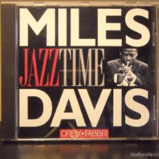 CDs de Música: CD - JAZZ TIME (ORBIS FABBRI) (MILES DAVIS) (NM / NM). Lote 56001106