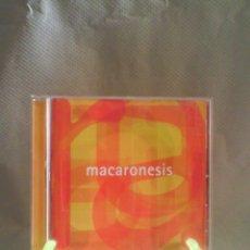 CDs de Música: CD MACARONESIS. Lote 56006751